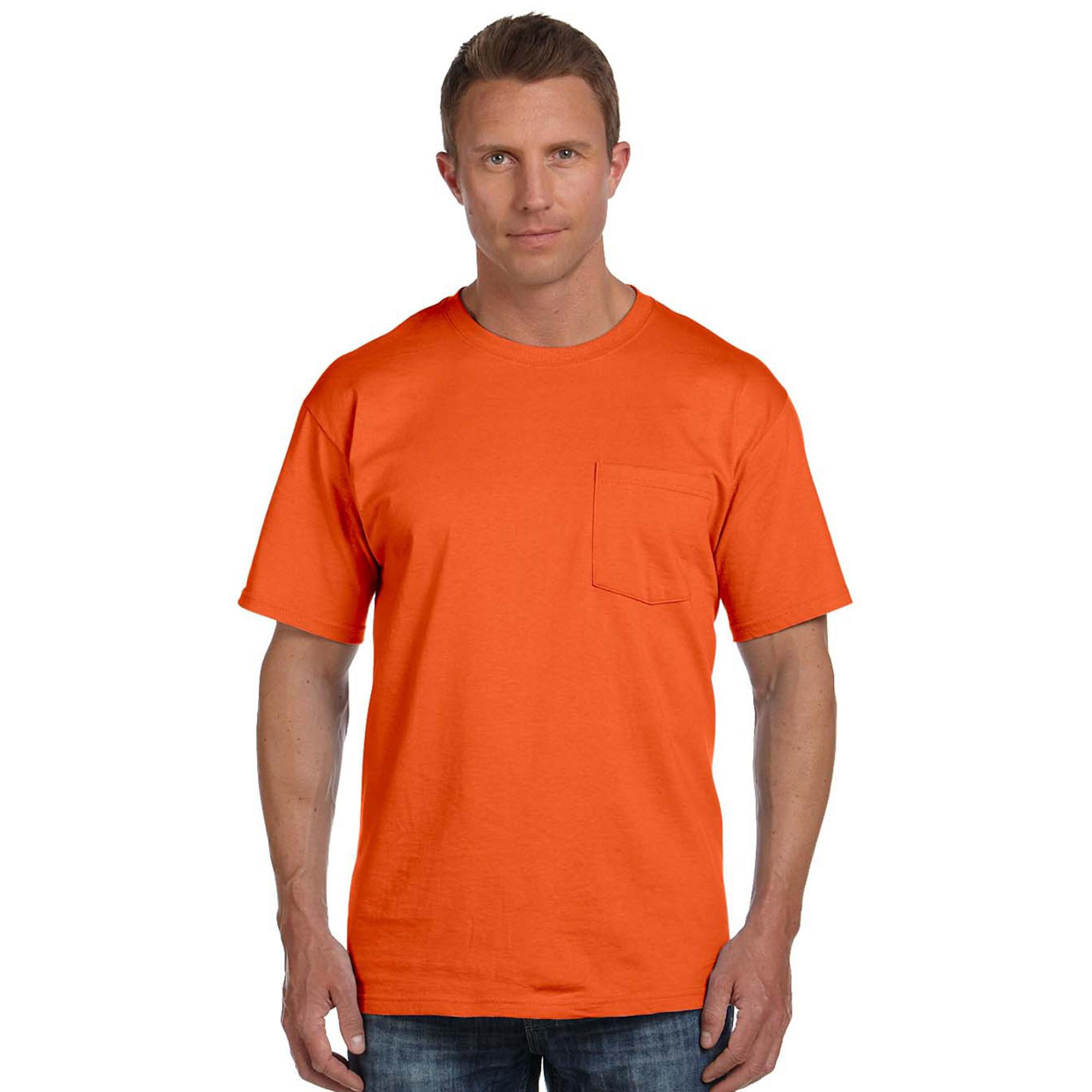 Fruit of the Loom 3931P Men's Tight Woven Pocket Lightweight T-Shirt