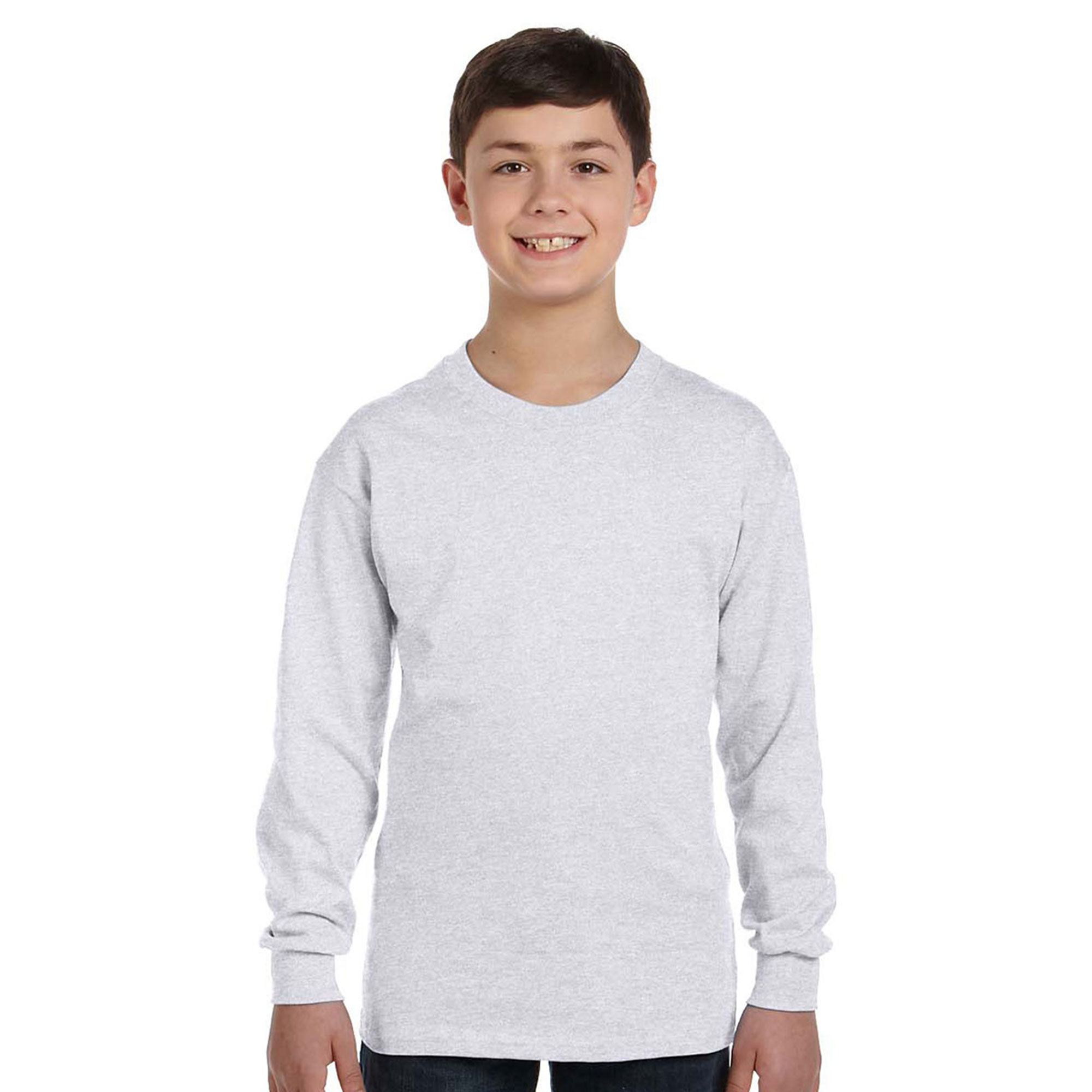 Hanes 5546 Boy's Comfort Tagless Long-Sleeve T-Shirt at Sears.com