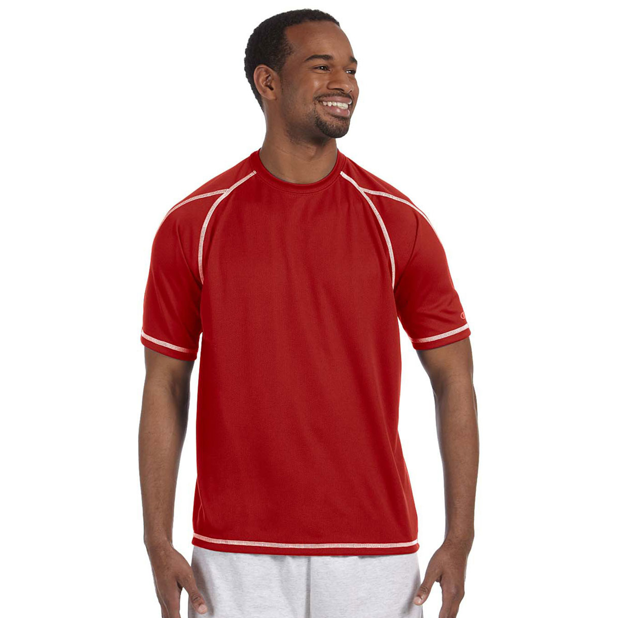 Champion Champion Short Sleeve 4.1 oz Double Dry Muscle Shirt with Odor Resistance T2057