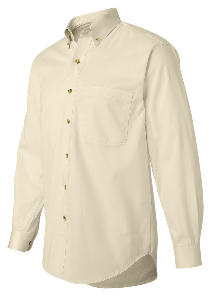 Sierra Pacific 3201 Men's Comfortable Button-Down Collar Dress Shirt at Sears.com