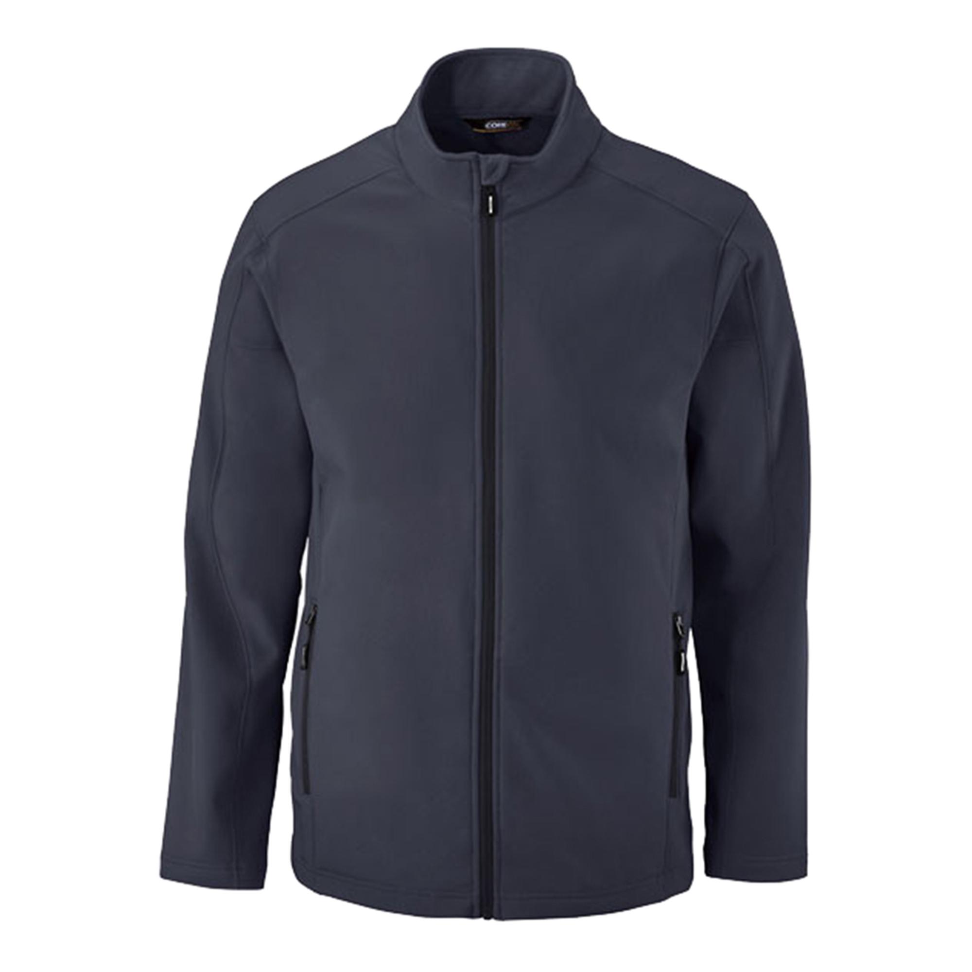 North End 88184 Men's Soft Shell Inside Left Pocket Jacket