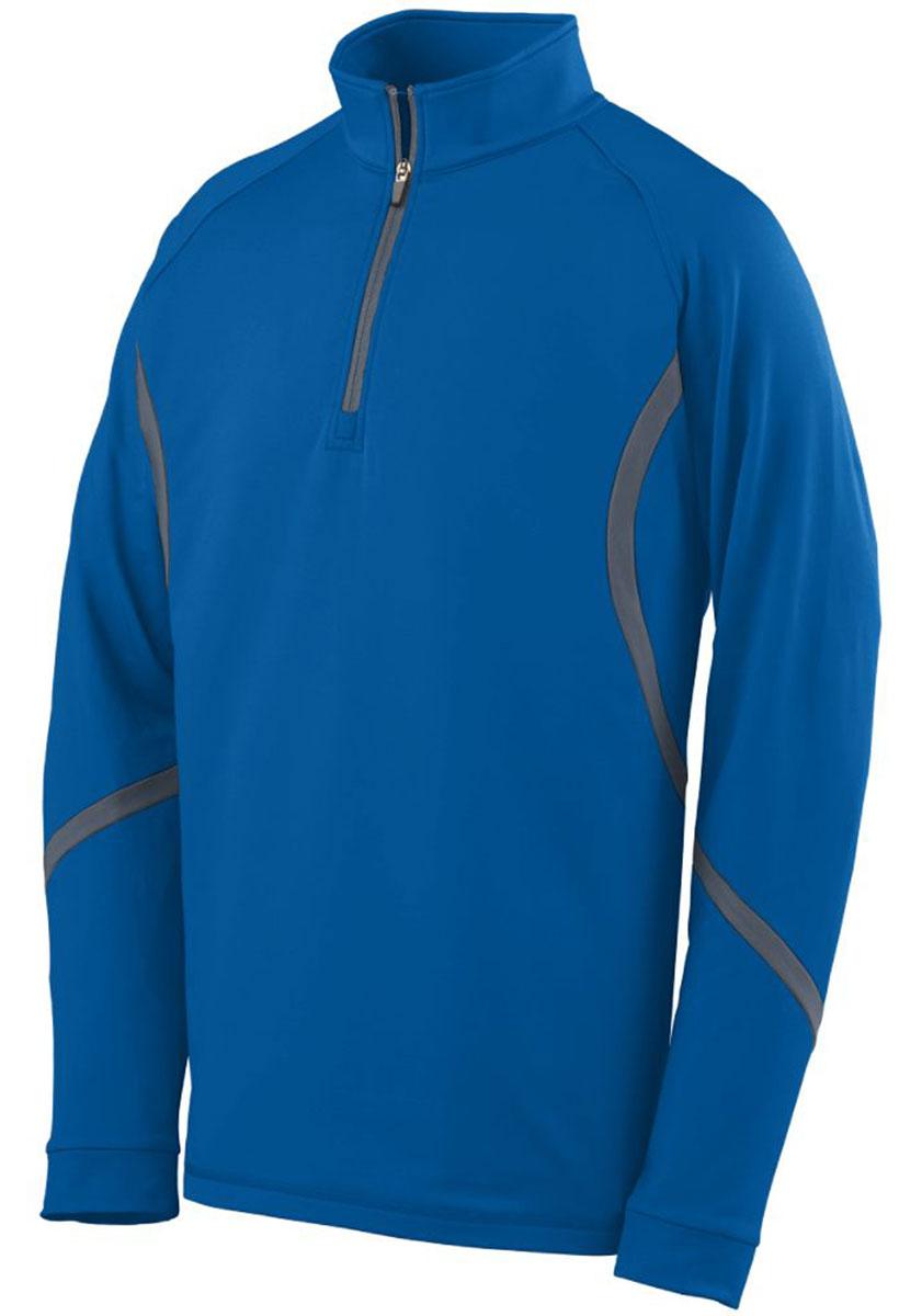 Augusta 4760 Men's Raglan Sleeves Half-Zip Pullover at Sears.com