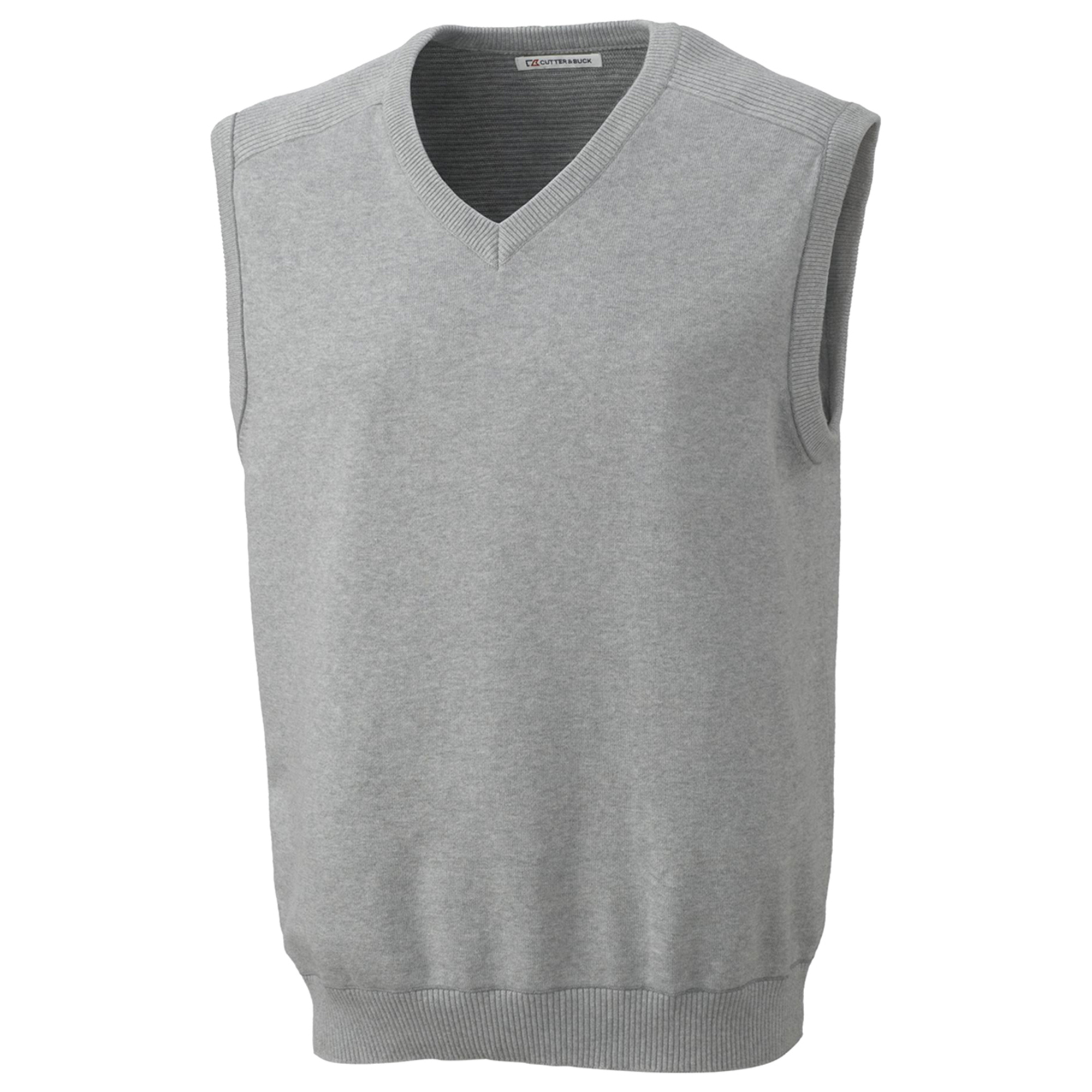Cutter and Buck BCS01422 Men's Comfort V-Neck Sweater Vest