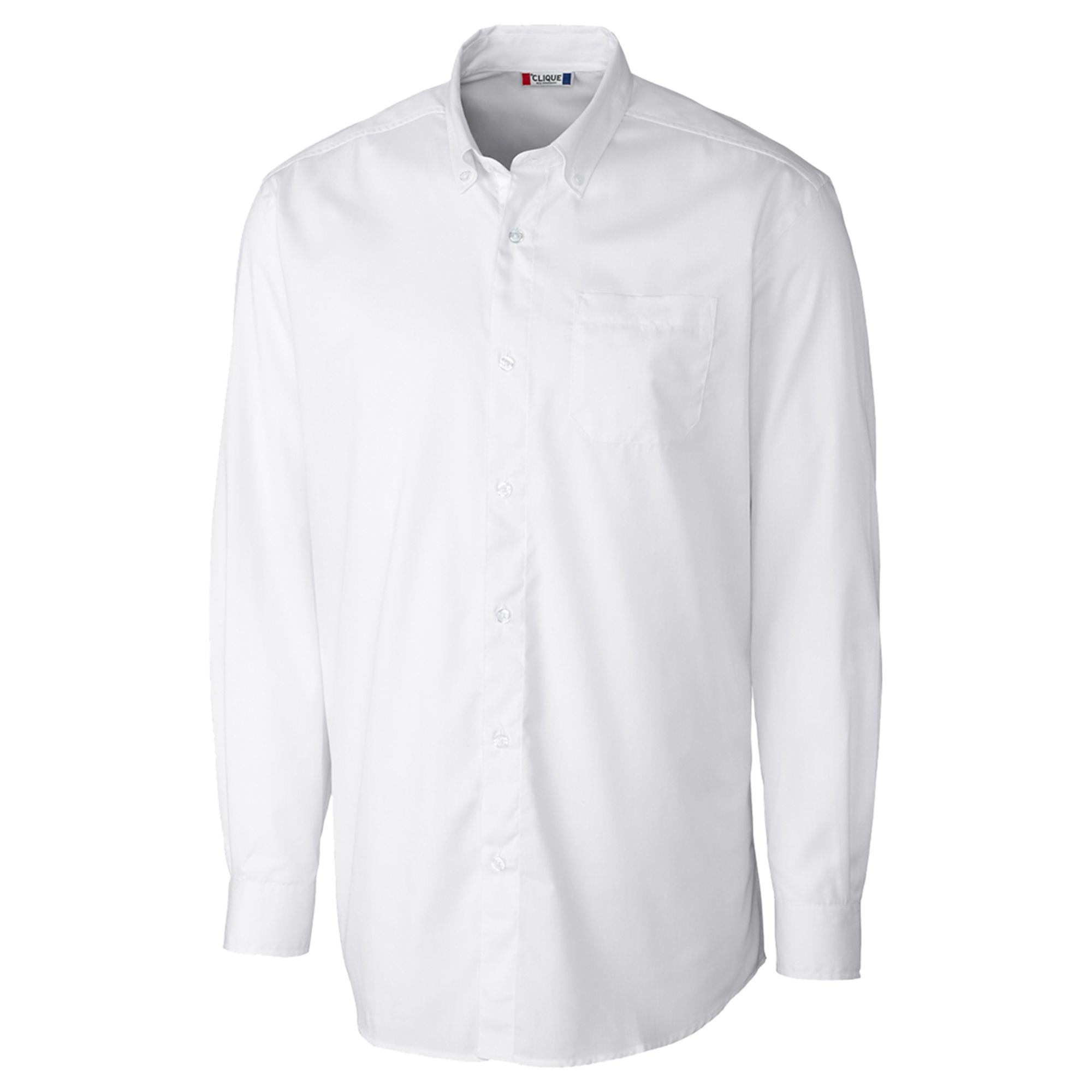 Cutter and Buck BDW00053 Men's Straight collar Comfort Chest pocket Plaid Shirt