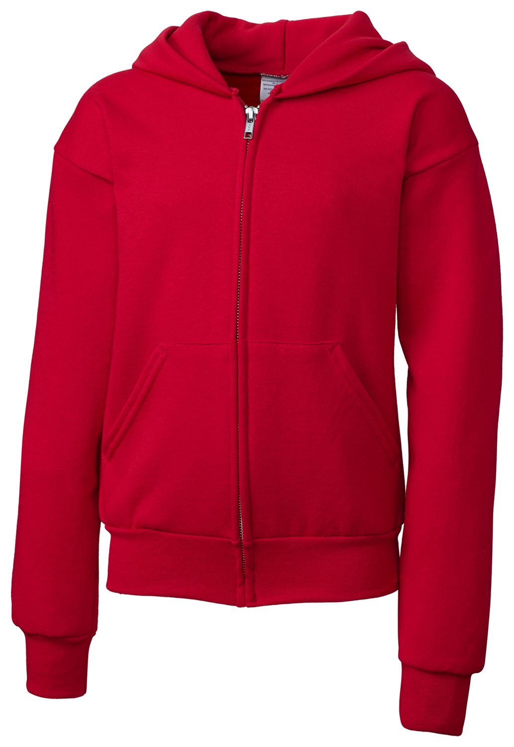 Clique Basics YRK03001 Girl's Full Zip Comfortable Mid-Weight Warm Hoodie
