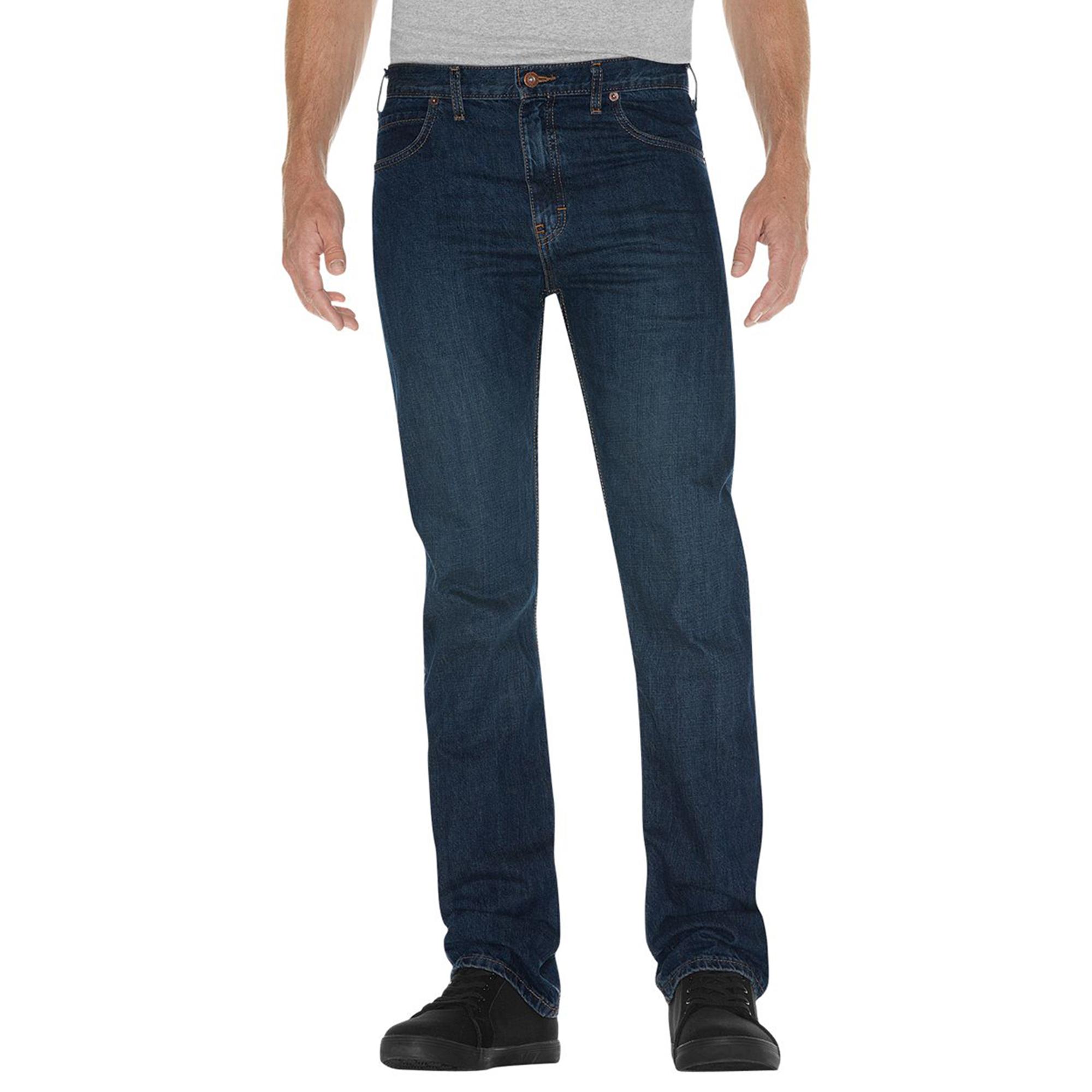 Dickies DD010 Men's Slim Straight Fit 5-Pocket Jean at Sears.com