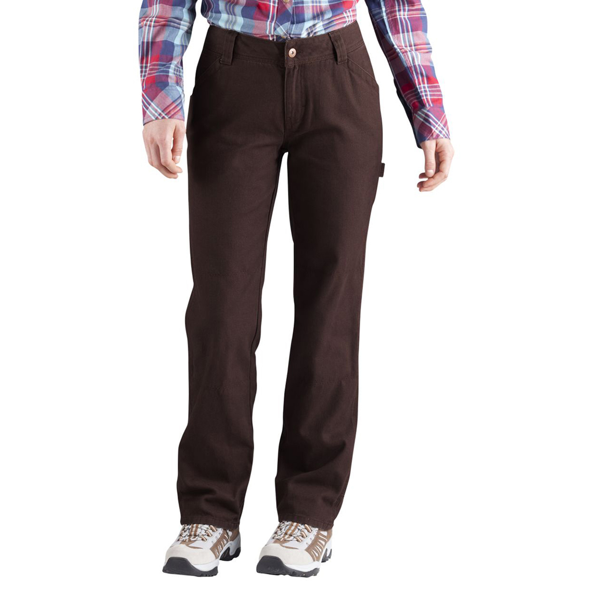 Dickies FD2300 Women's Relaxed Fit Straight Leg Carpenter Pant at Sears.com