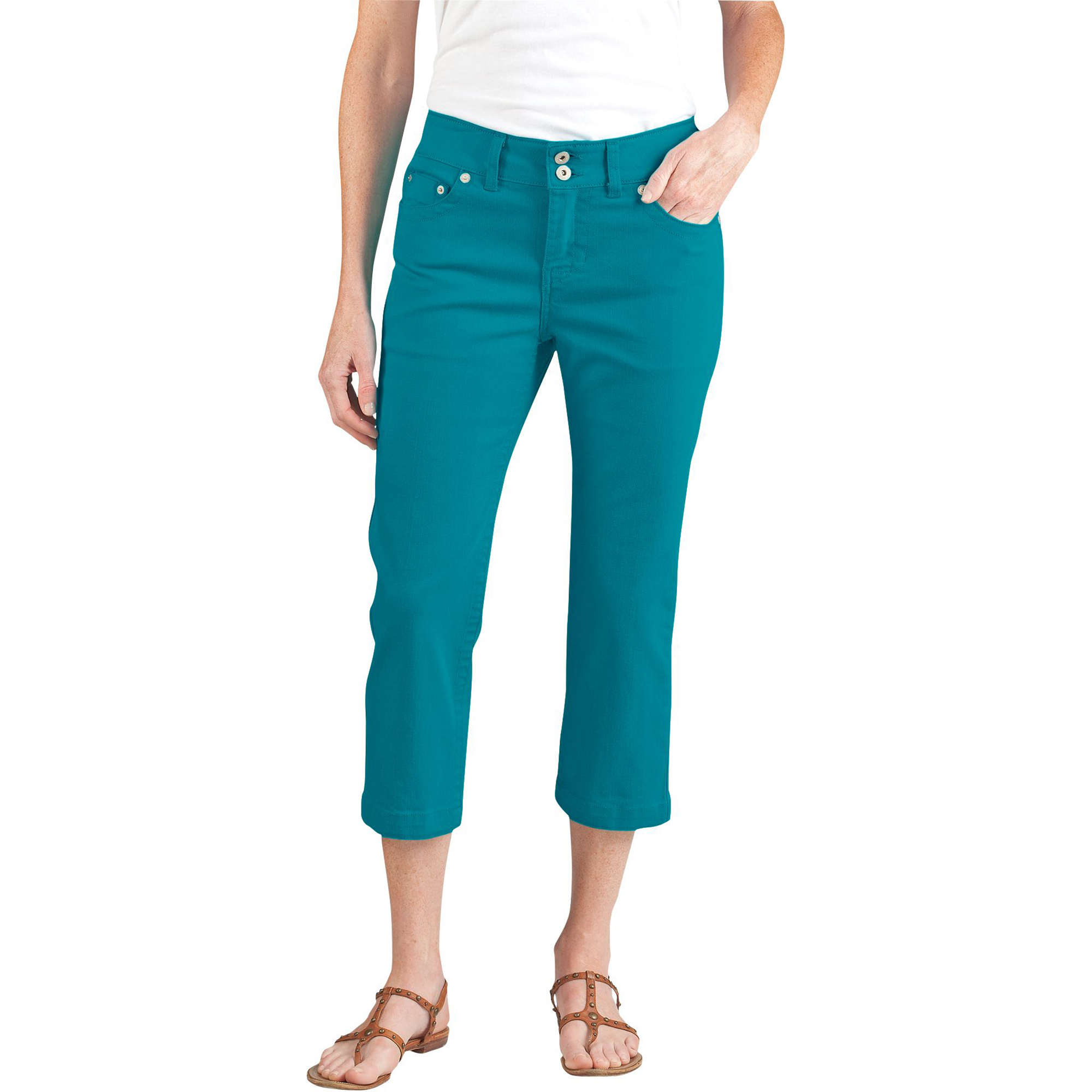 Dickies FR335 Women's Relaxed Fit Twill Five Pocket Capri Jean at Sears.com