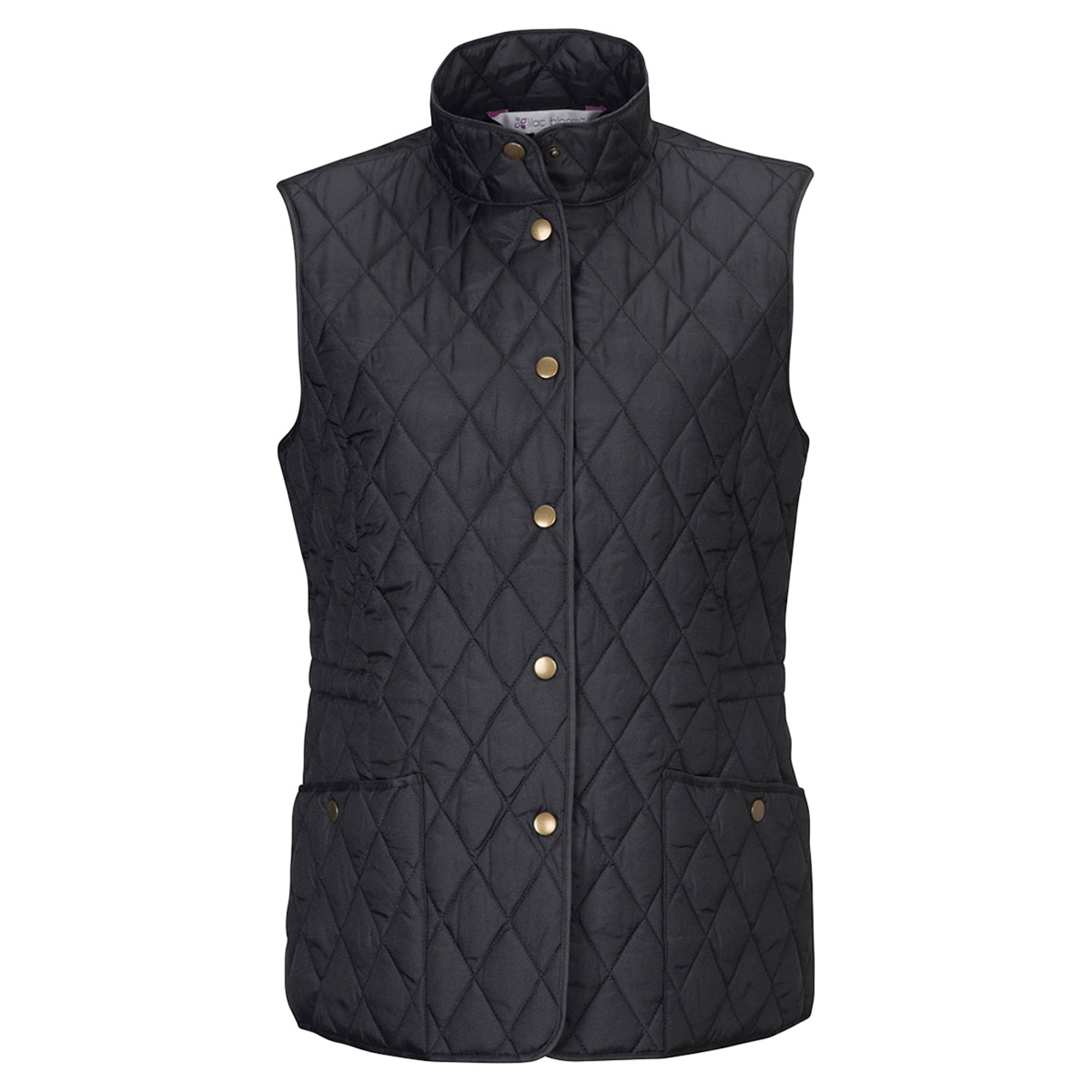 Tri-Mountain Women's Quilted Two Snap Pocket Vest