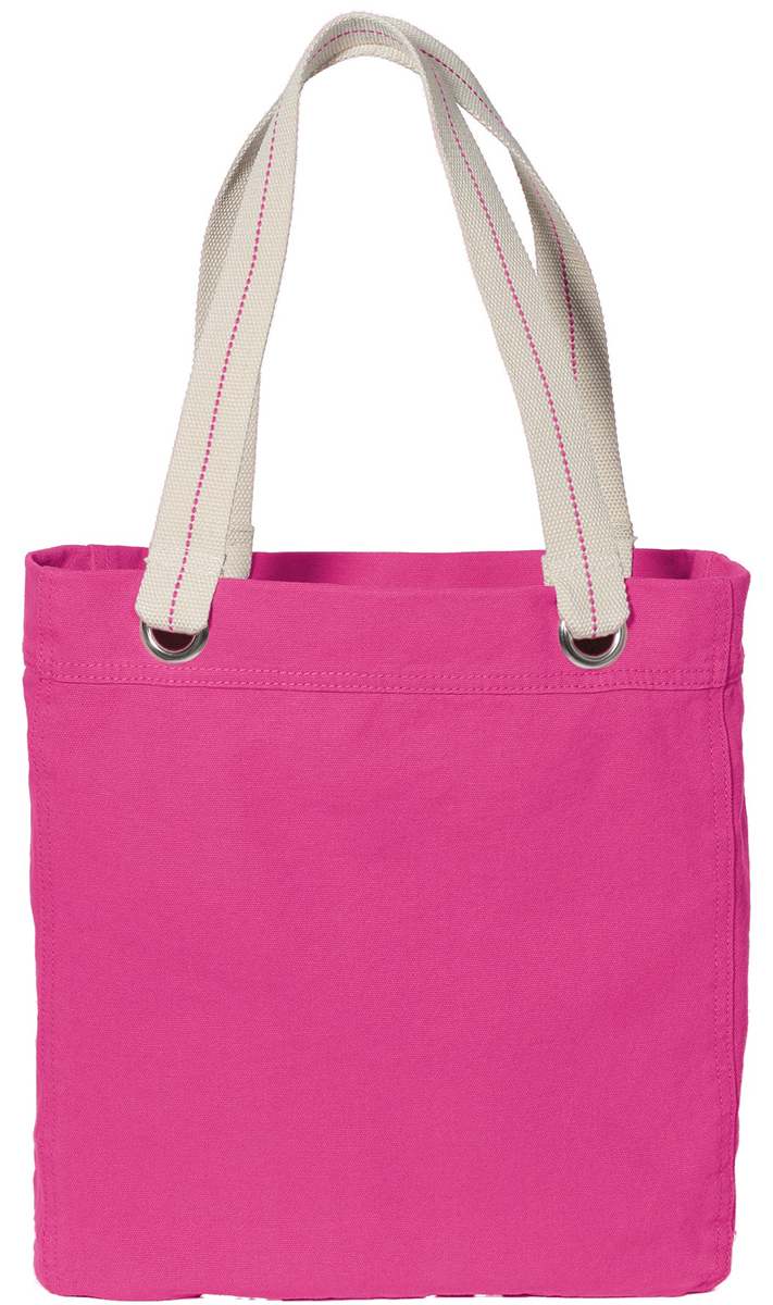 Port Authority B118 Shopping Interior Zippered Pocket Handle Tote at Sears.com