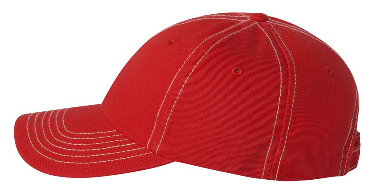 0880b7e005f8c Valucap Adult Bio-Washed Unstructured Cotton Cap VC300A Dad s Cap Baseball  Hat