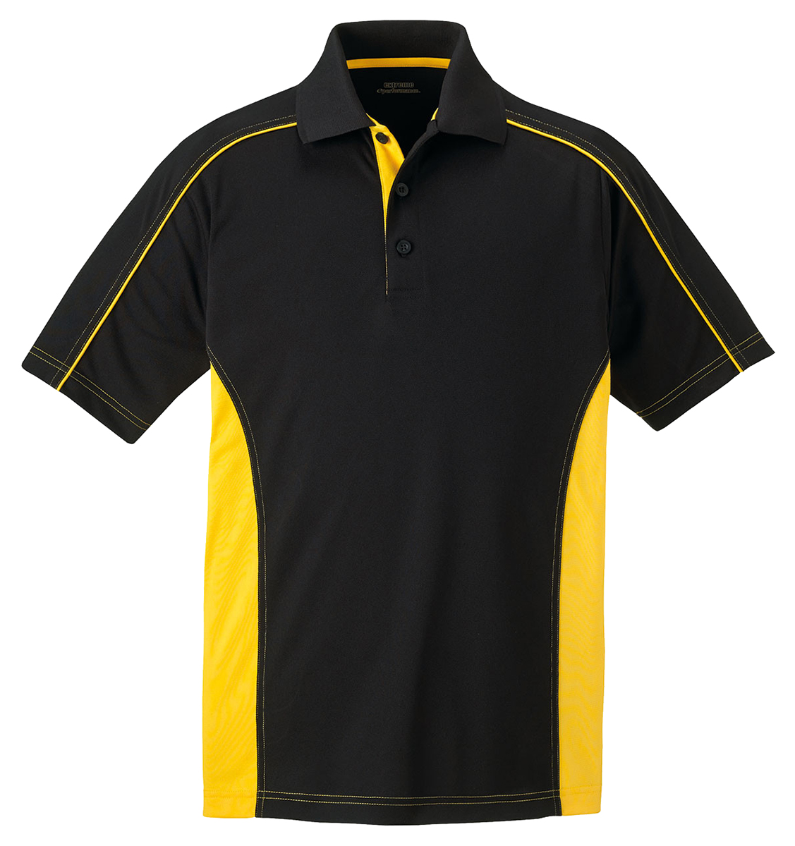 Extreme men 39 s performance polyester short sleeve color for Men s performance polo shirts