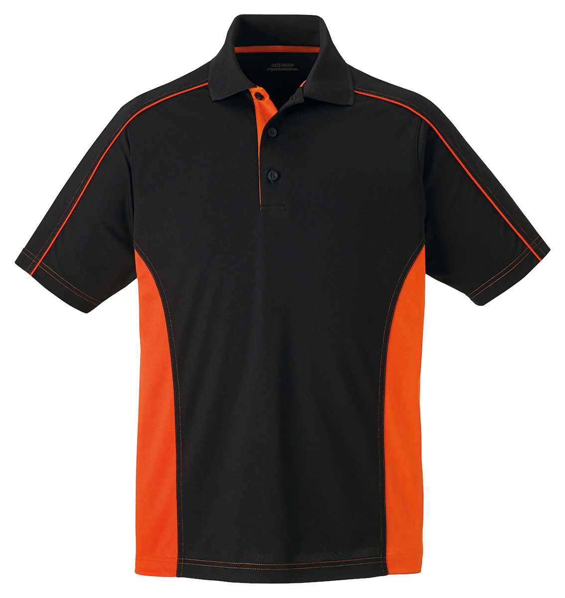 Extreme men 39 s performance polyester short sleeve color for Men s polyester polo shirts
