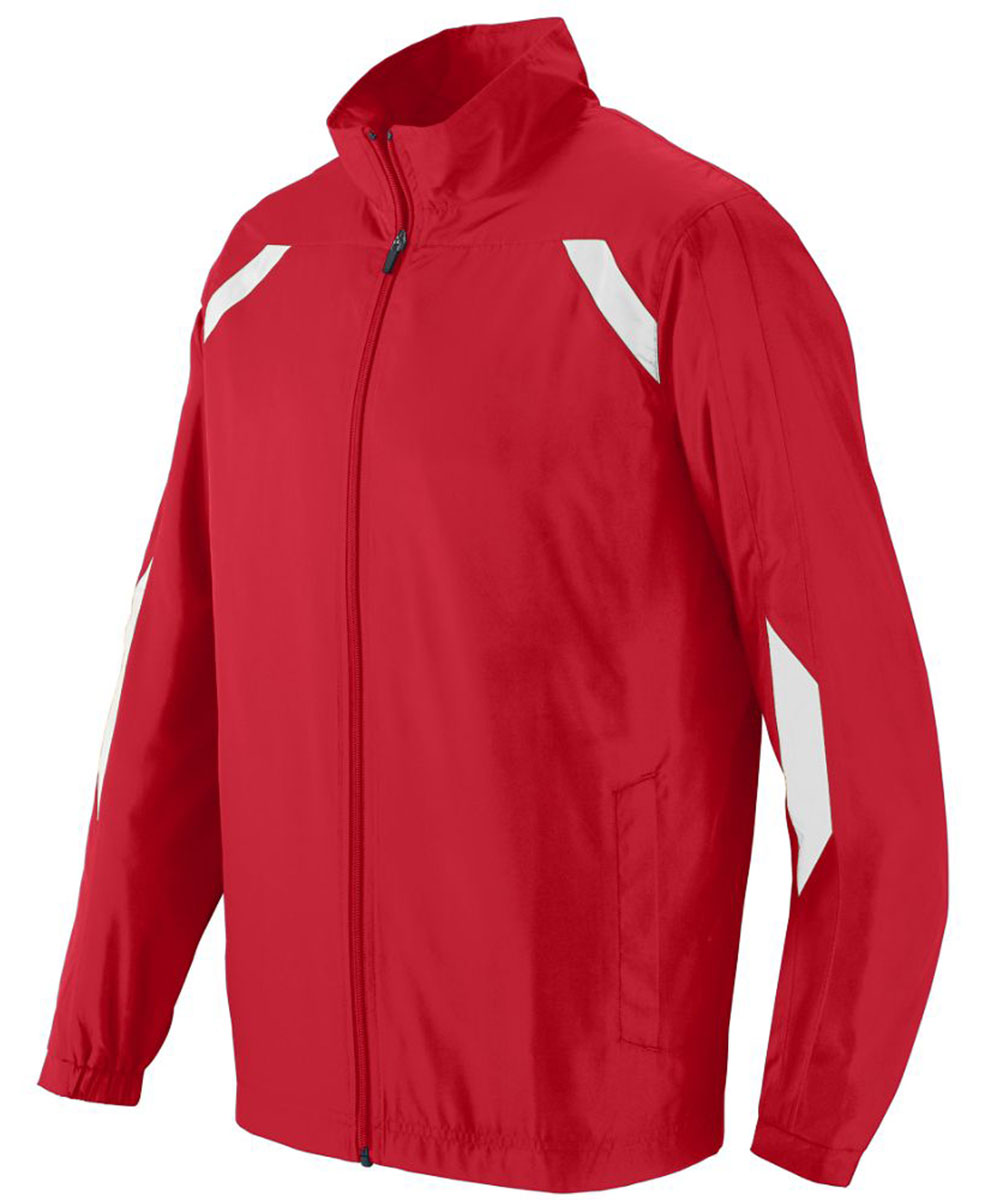Augusta Sportswear Men/'s Heavyweight Polyester Front Zip Jacket S-3XL 7710