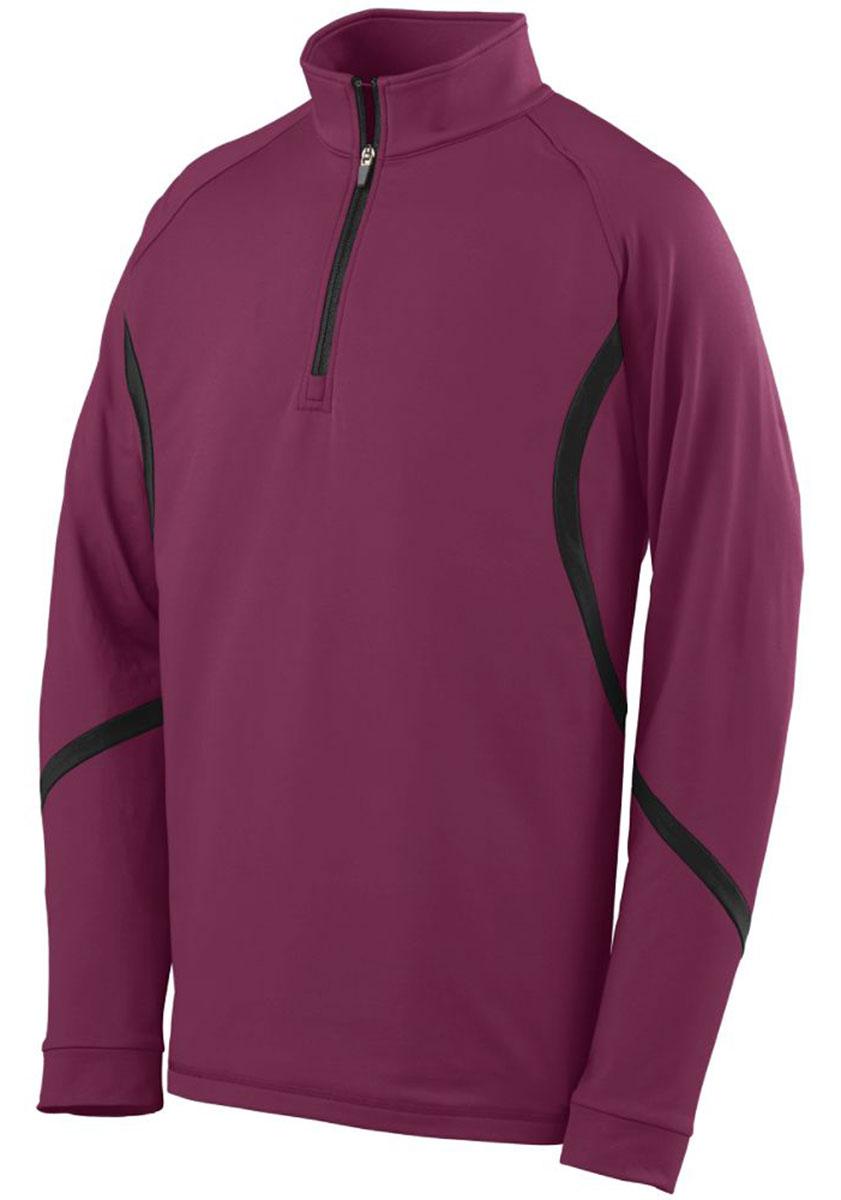 Augusta-Sportswear-Men-039-s-4-Way-Stretch-Half-Zip-Winter-Pullover-S-3XL-4760 thumbnail 6