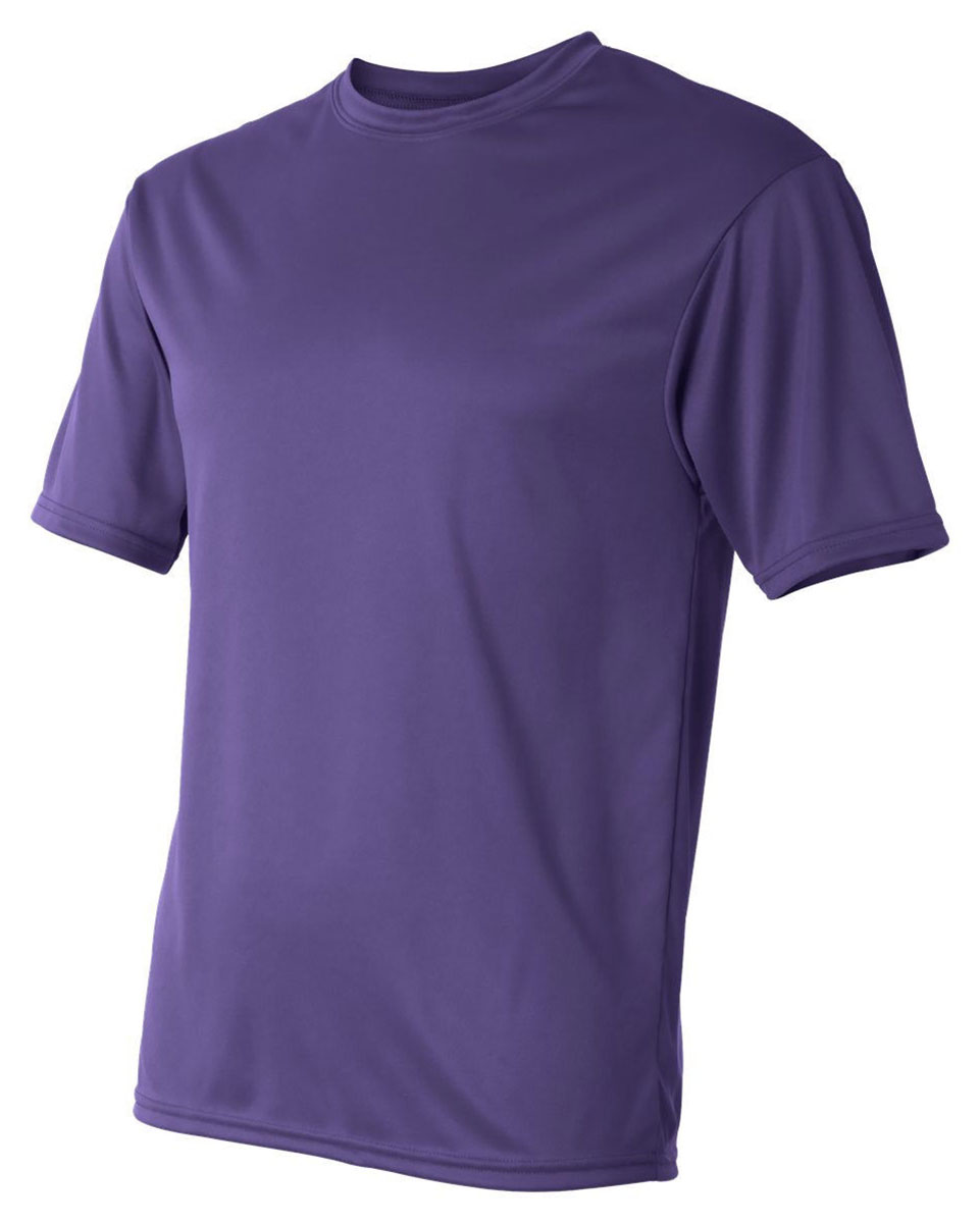 C2 sport mens performance t shirt 100 polyester for Mens xs golf shirts