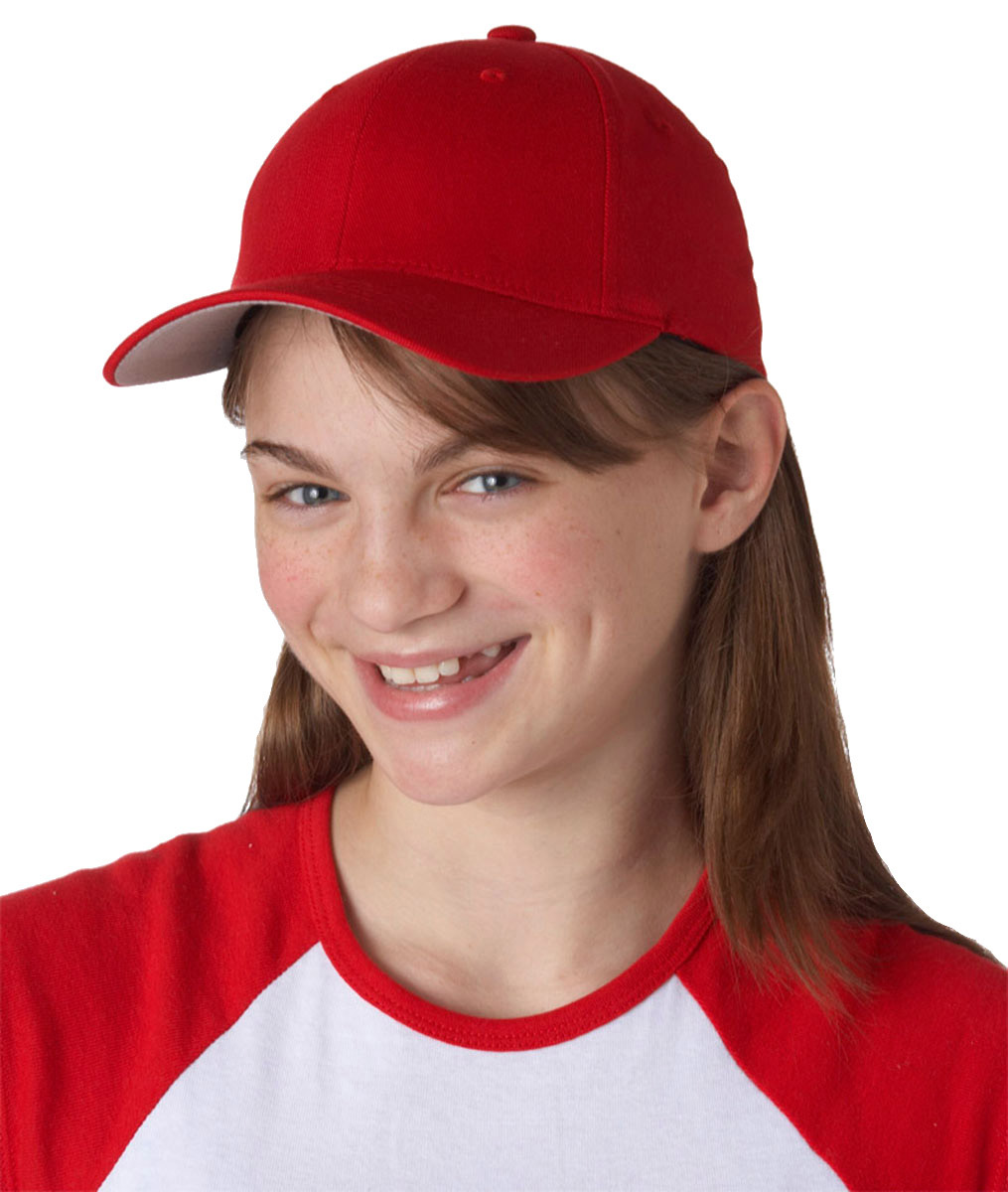 7dd2ade064d5d4 Yupoong Youth Casual Flexfit Wooly 6 Panel Structured Baseball Cap. 6277Y