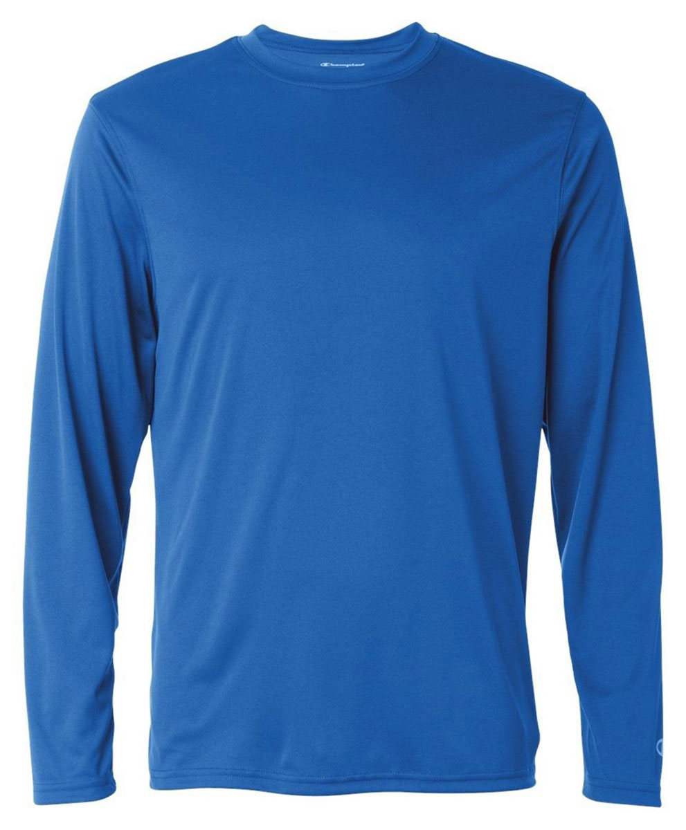Champion Men 39 S Double Dry Moisture Wicking Long Sleeve