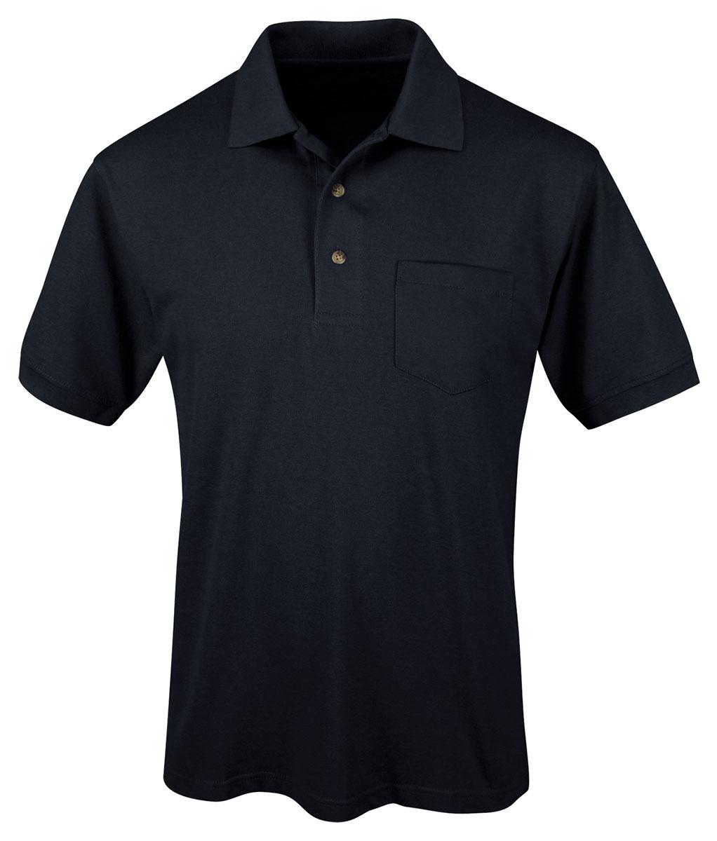 Tri-Mountain-Men-039-s-Short-Sleeve-Chest-Pocket-Sport-Pique-Polo-T-Shirt-S-XL-096
