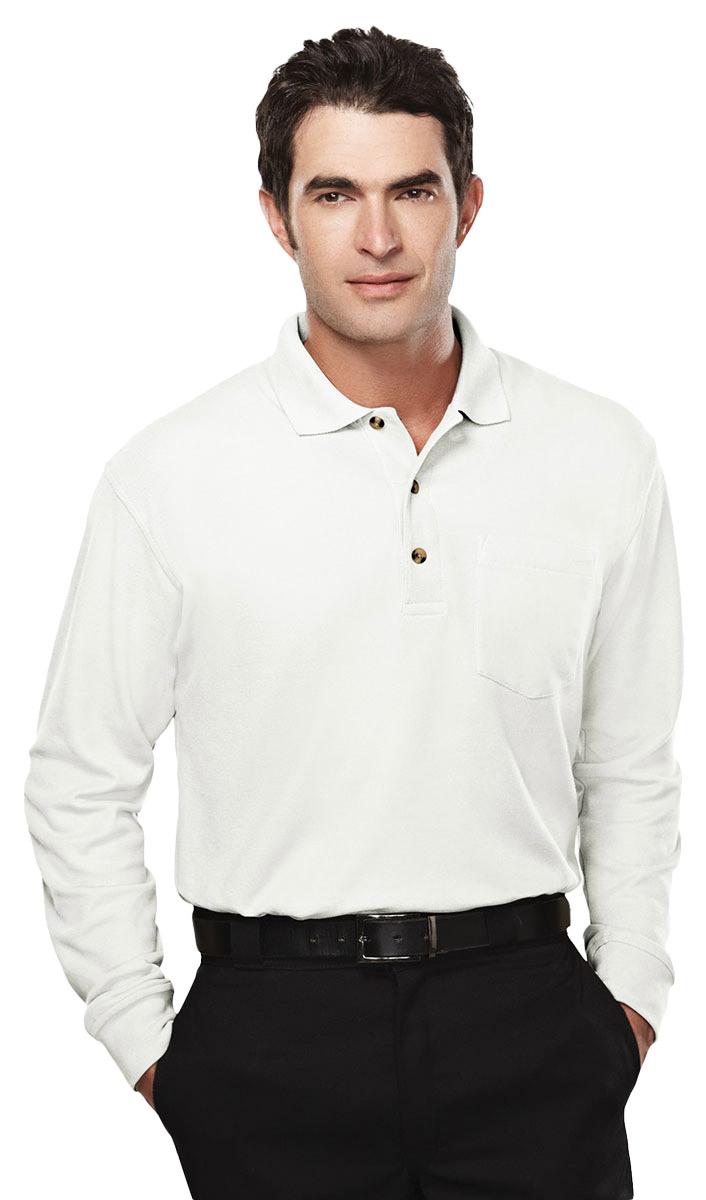 Tri mountain men 39 s big and tall pique pocket polo t shirt for Big and tall polo t shirts