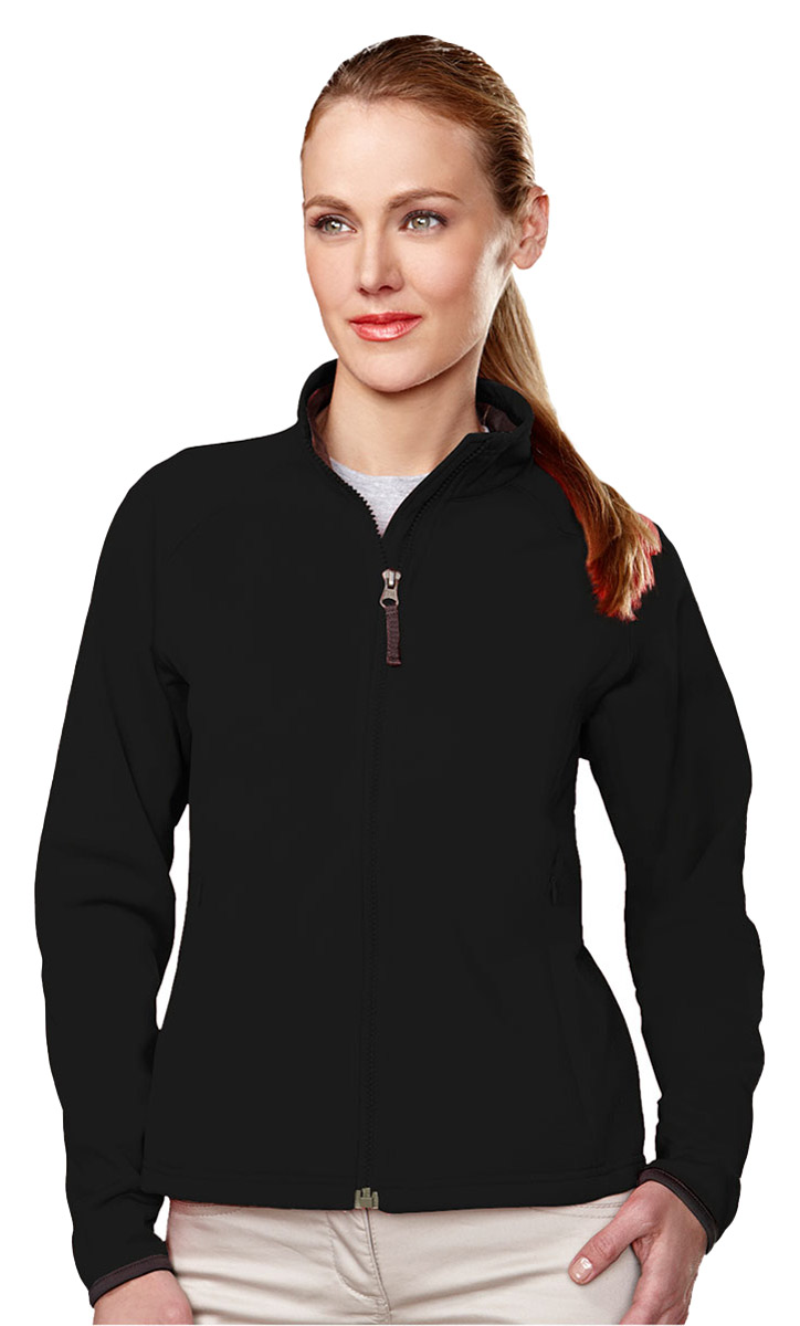 Tri-Mountain Women's Lightweight Warm Long Sleeve Full Zip Winter ...