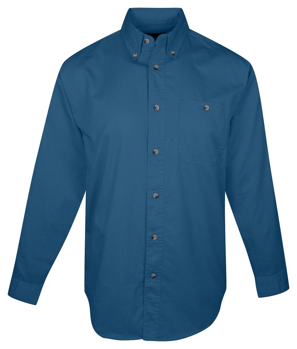 Tri-Mountain Menu0026#39;s Big And Tall Button-Down Collar Twill Dress Shirt. 810-Tall | EBay