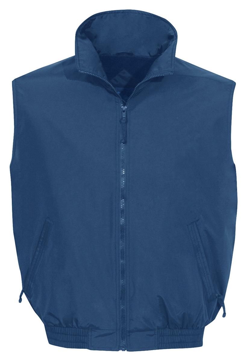 Tri-Mountain-Men-039-s-Two-Front-Pockets-WindProof-Fleece-Winter-Vest-Jacket-8400
