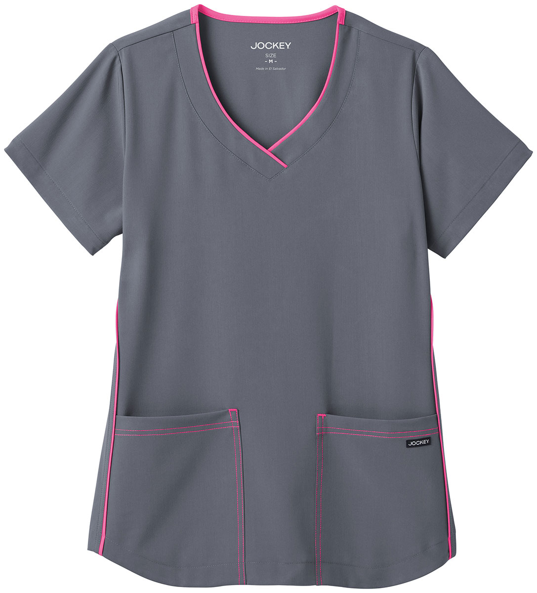 11a96ac4873 Jockey Scrubs Women's Short Sleeve Sporty V Neck Scrub Top. 2339   eBay
