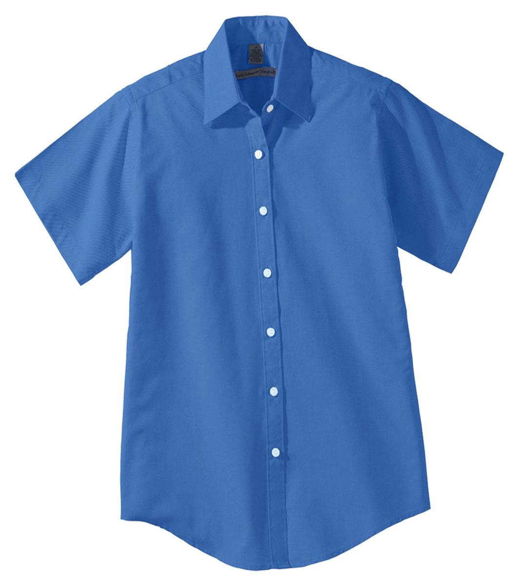 Edwards Garment Women 39 S Short Sleeve Pinpoint Dress Oxford