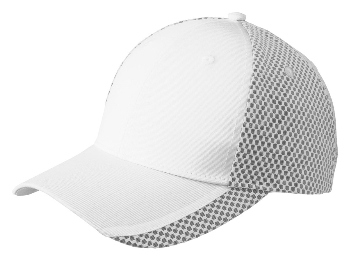 Port Authority Two Color Structured Mesh Back Mid Profile Baseball Cap. C923 27b6eb51512