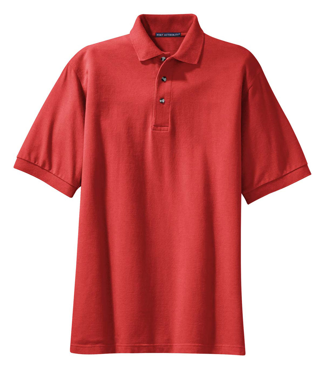 port authority men 39 s short sleeve 100 cotton golf polo ForMens Xs Golf Shirts