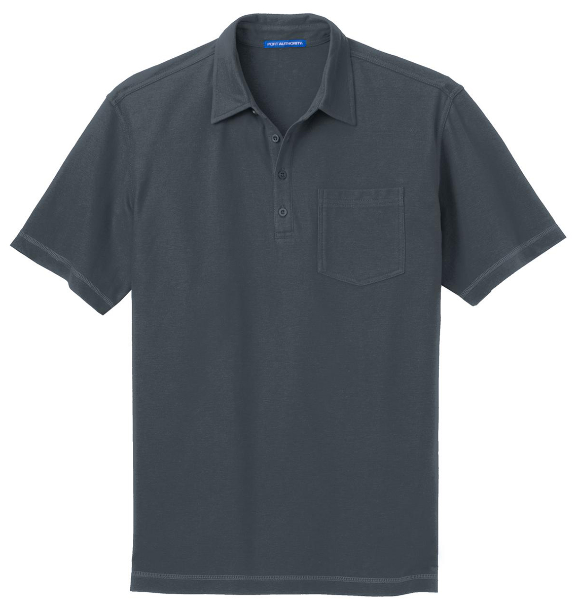 Port-Authority-Men-039-s-New-Golf-Short-Sleeve-Wrinkle-Free-Pocket-Polo-Shirt-K559 thumbnail 11