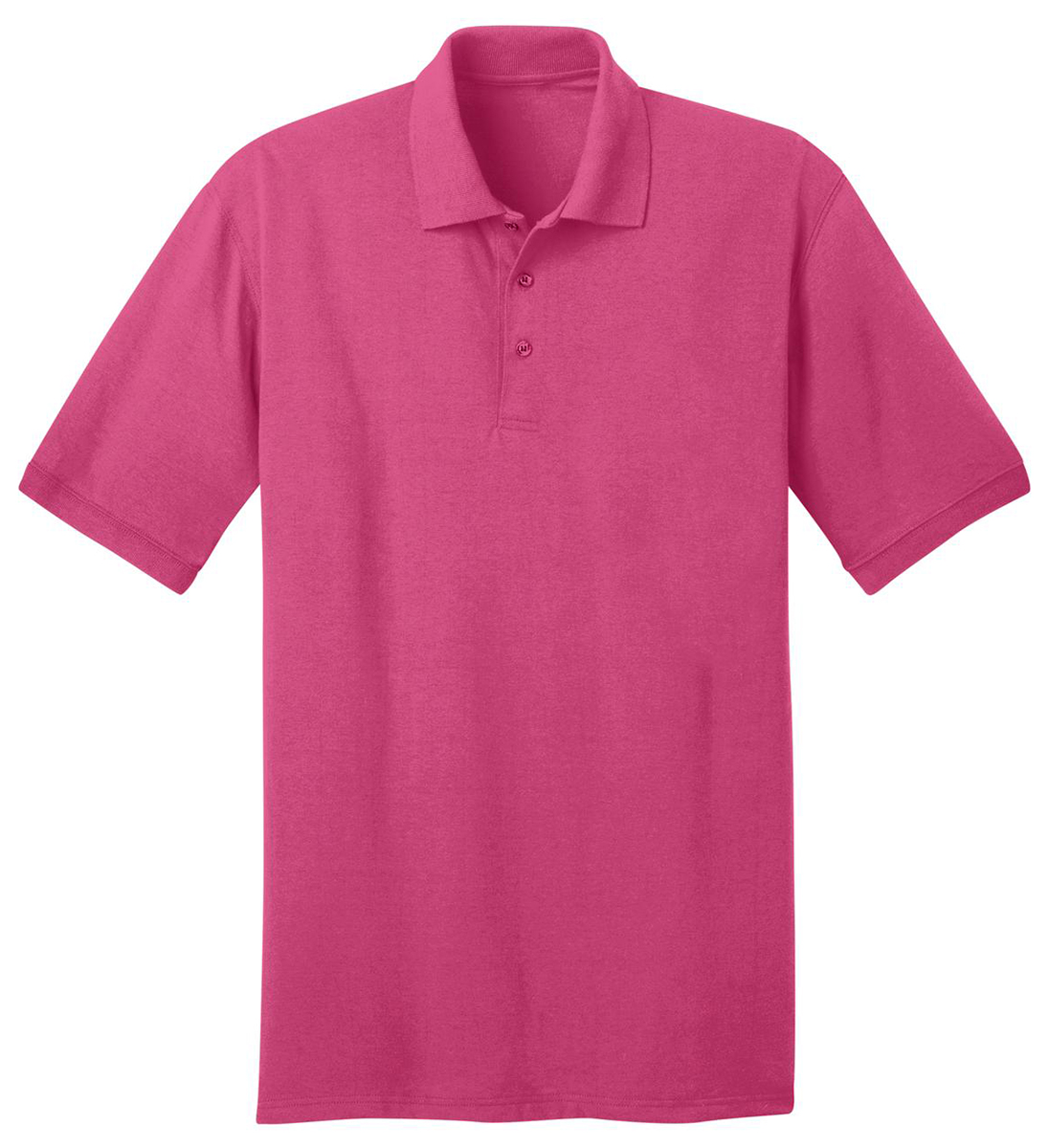 Port company men 39 s big tall casual short sleeve golf for Large tall golf shirts