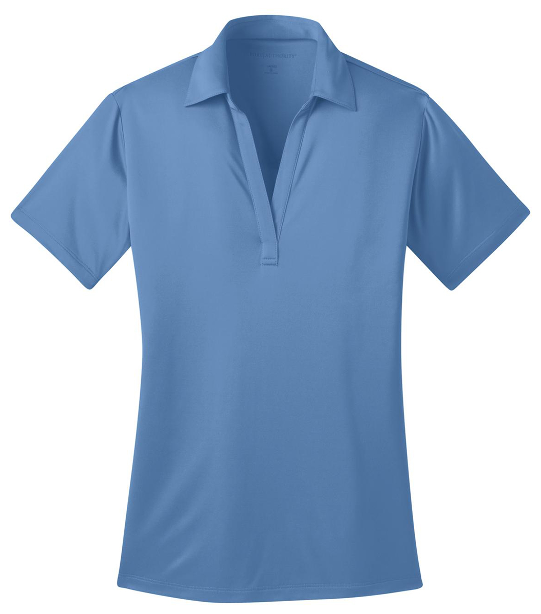 Port authority l540 womens dri fit silk touch polo xs 4xl for Mens xs golf shirts