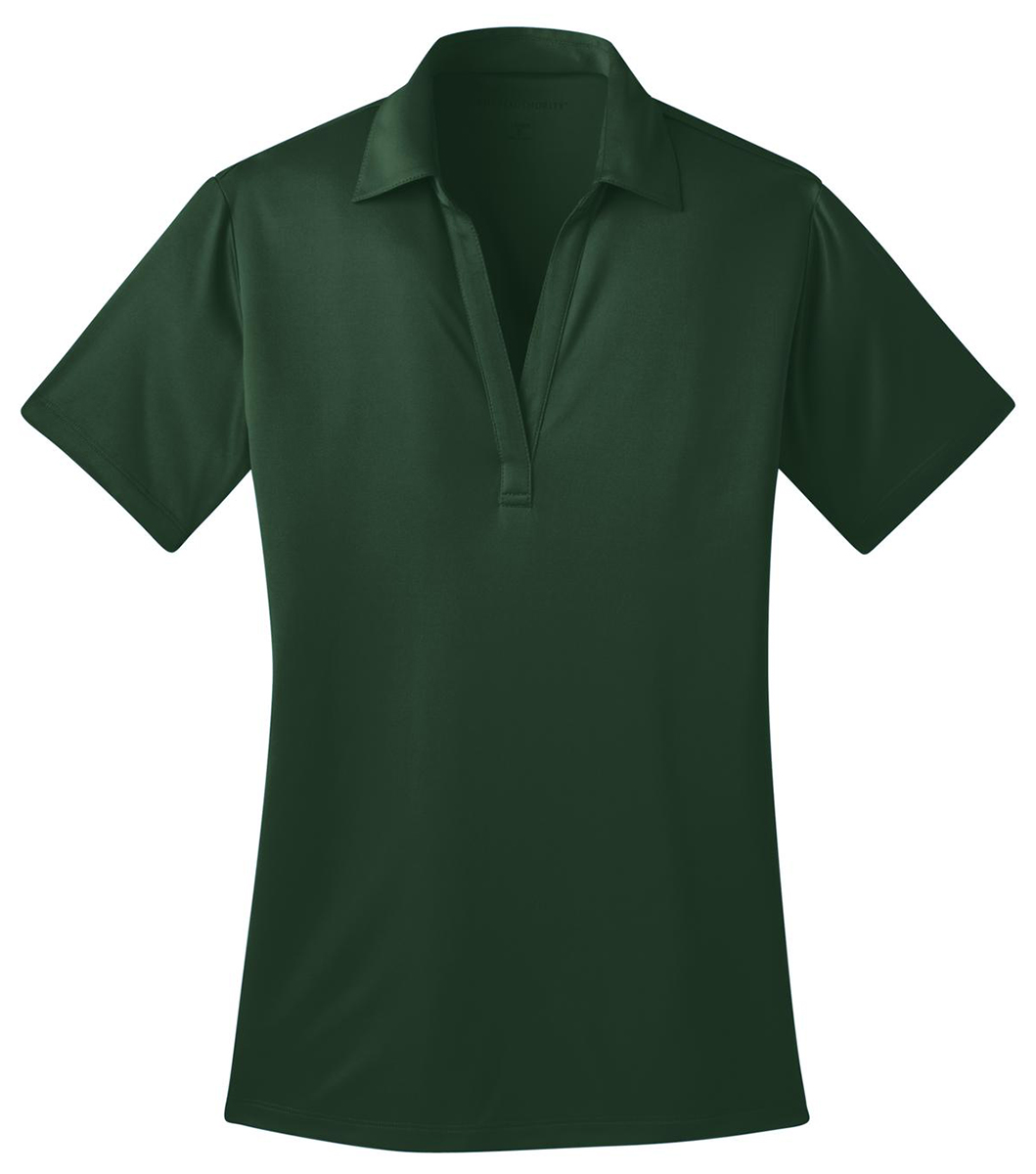 Port authority l540 womens dri fit silk touch polo xs 4xl for Women s dri fit golf shirts